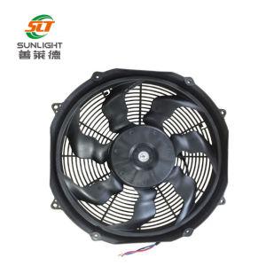 12V 24V 16pouce de haut débit d'air DC sans balais axiale du ventilateur de refroidissement du radiateur