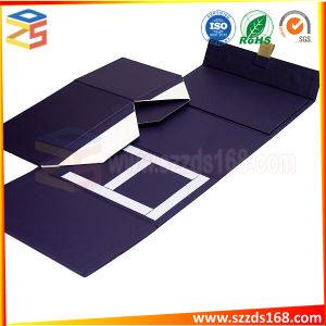 Подарок бумага печать Flip плоской крышки багажника складной магнитное поле упаковки