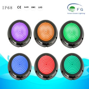 IP68 316ss樹脂によって満たされる6Wは白いプールライトを暖める