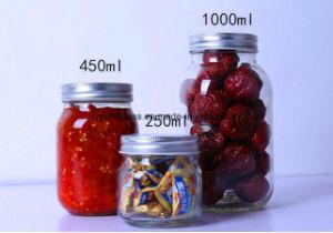 rundes einmachendes Glas 750ml Ood Verpackungs-Glas-Glasglas