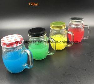 4oz, 8oz, 16oz, 32oz Glass Mason Jar, potável caneca