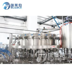 Getränkewaschende füllende mit einer Kappe bedeckende Maschine der China-gute QualitätsCgfd24-24-8 mögen Coca Cola