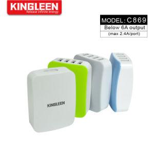 4 порта USB домашний настенное зарядное устройство с помощью зарядной станции Smartid дорожное зарядное устройство для технологии Smart устройство телефоны планшетные ПК