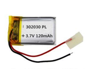 착용할 수 있는 장치를 위한 고품질 Li 중합체 건전지 180mAh 3.7V