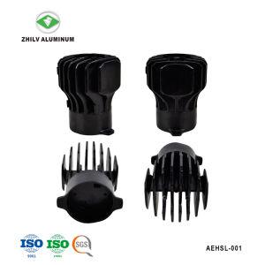 Perfil de aluminio anodizado de disipador de calor para la iluminación comercial