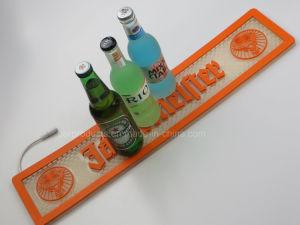 PVC Rail LED de la bière des tapis de la barre pour la promotion de la bière