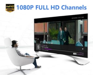 Androide Fernsehapparat-Kasten Amlogic S905X Chips 1GB/8GB mit IPTV Subskriptions-Support WiFi, 4K, 1080P HD.