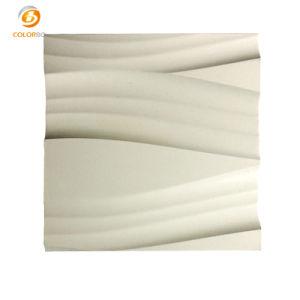 Farbanstrich-Oberflächengrad ein Feuerfestigkeit-umweltfreundliches schalldichtes Innendekoration MDF-Material bewog Wandverkleidungs-Vorstand-akustische Wand wellenartig
