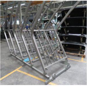 8トンディーゼル力の機械装置のフォークリフトの容器のフォークリフト