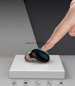 2018 Nueva llegada gemelos Mini Auricular inalámbrico invisible en el Monitor de sonido Hi-Fi de oreja los auriculares auriculares Bluetooth de Tws Sport