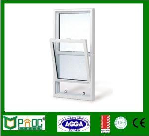 Singola finestra di alluminio appesa di stile americano con hardware cinese