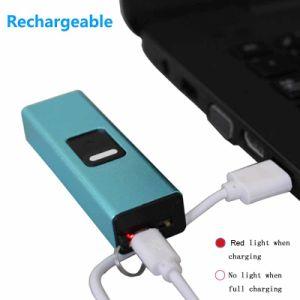 Venda por grosso de qualidade superior do arco eléctrico de cigarros USB chaveiro isqueiro recarregável