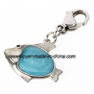 형식 금속 바다 주제 보석 주문 열쇠 고리