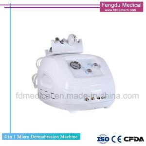 4 en 1 pequeñas burbujas de oxígeno del agua de la máquina de limpieza de la dermabrasión