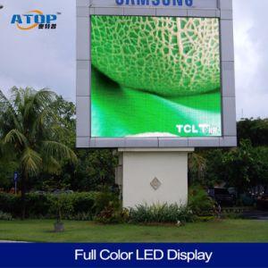 P10 étanche extérieur pleine couleur Affichage LED ultra mince