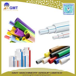 PVC rígido de plástico del tubo flexible de reforzar la línea de extrusión de tubo de cable