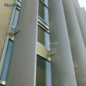 Металлические регулируемые жалюзи покрытия наружной стены затвора