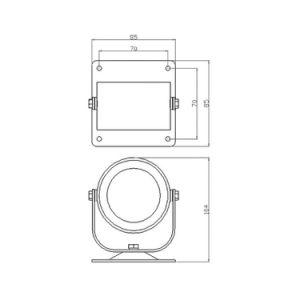Pl026 6W im Freien LED Punkt-Lichter der Qualitäts-