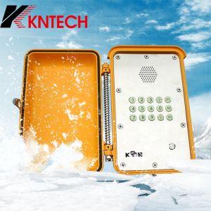 Knsp-13 Teléfono Marina Industrial impermeable Teléfono VoIP de teléfono de emergencia