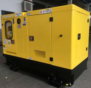 30 ква рейтинг Cummins Power Silent дизельного генератора звуконепроницаемых мощности генератора