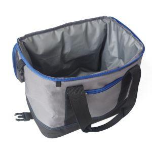Enfriador de suave bolsa con cierre de cremallera, abridor de botellas, plegables, Aislamiento interior