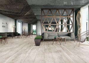 Bois de cerisier Series-Porcelain bois sur le mur et les planchers en bois 600X1200mm/200X1200mm