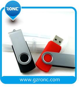 8GB USB 2.0フォールドのデータ記憶、メモのためのLEDが付いているフラッシュ駆動機構の親指駆動機構のジャンプ駆動機構