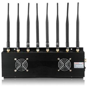 Goedkoopste Krachtige de 8-antennes van de Desktop GPS WiFi van de Stoorzender van Cellphone Stoorzender