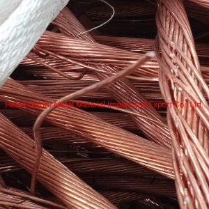 Fio de cobre de sucata de sucata de cobre/ com uma pureza elevada fabricado na China