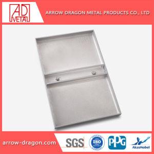 Пвдф Non-Combustible алюминиевых твердых панель для наружной стены оформлены