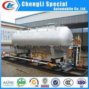 ガスの満ちるプラントを端末LPGのスキッド調理する25cbm 25000リットルの