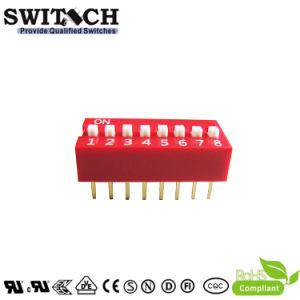 De elektronische Rode Schakelaar van de ONDERDOMPELING van de Piano Miniture van de Drukknop van de Dia SMT Tastbare Elektronische voor de AutoRaad van PCB van ECU van Delen (sw10-ds-08)