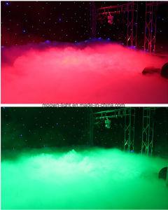 3000W de l'eau de brouillard de fumée à la masse de décisions de la machine de brouillard de basse altitude