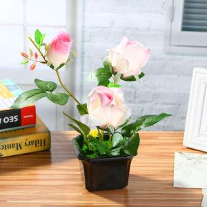 Отель оформление три закрывается бонсай Искусственные растения искусственные цветы