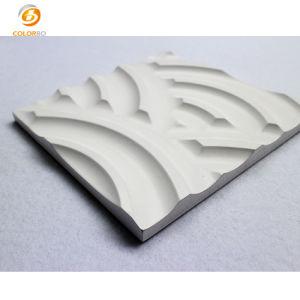 Panel acústico de la ranura de madera MDF MDF los paneles de pared 3D