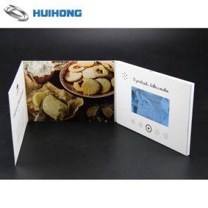 Tela de alta definição de 2,4 polegadas Brochura de vídeo para a Publicidade
