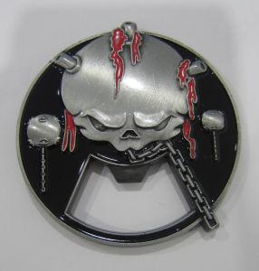 ダイヤモンドの切口の端(109)が付いているカスタマイズされた3D金属のエナメルの硬貨のバッジ