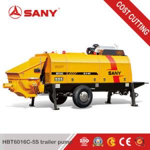 Sany Hbt6016c-5sの70m3/Hによって出力されるディーゼルトレーラーポンプ