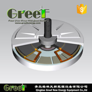 De lage Generator van de Magneet van Coreless van de Torsie van het Begin Permanente voor Gebruik Vawt