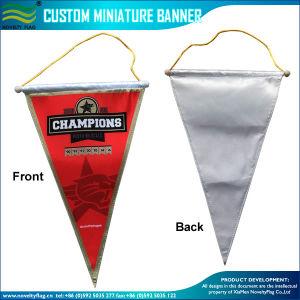 交換フラグのブランクの旗の絹の汚れの三角形のこつの長旗(J-NF12F10011)