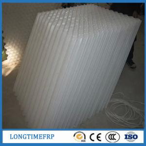 D50mm de PVC bleu clarificateur colons du tube de la plaque à lamelles