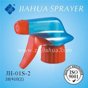 Pulverizador de Gatillo plástico de alta calidad para la limpieza doméstica (JH-01S-2)