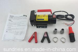 12/24V DC 전기 기름 디젤 연료 이동 펌프 모터 휴대용 등유 Biodiesel 분배기 - 175W 45L/Min 각자 프라이밍 Pumpcast