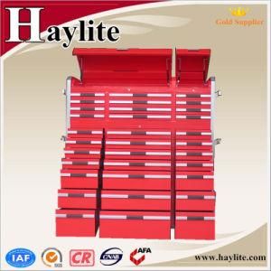 Armário de ferramentas pesadas com 33 gavetas de alças de alumínio