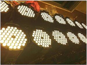 3wx54 LEDの同価ライトRGBWディスコランプの段階の光ビーム防水同価ランプ