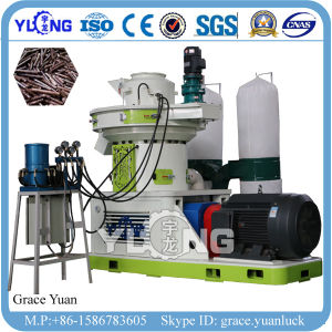수직 Yulong는 4-6t/H 목제 톱밥 펠릿 생성 선을 반지 정지한다