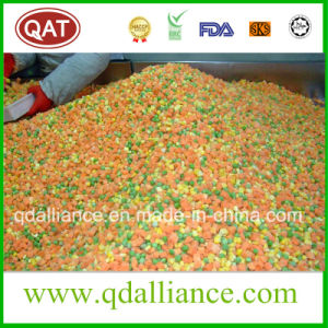 Verdure Mixed Frozen con il granturco dolce della carota dei piselli
