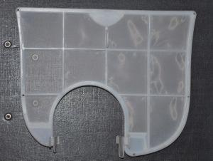 Mallas Filtro de aire acondicionado y las pantallas de los filtros de plástico moldeado con pantallas