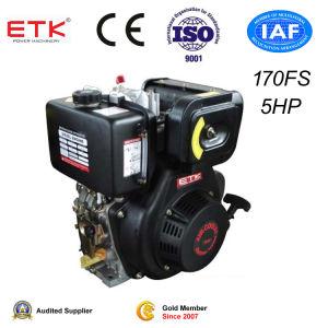 motore diesel standard di alta qualità 5HP (ETK170FS)