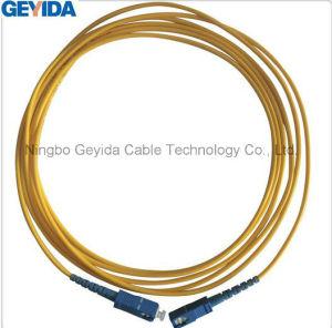 Sc/Upc-Sc/UPC de dúplex de fibra óptica Patch Cord